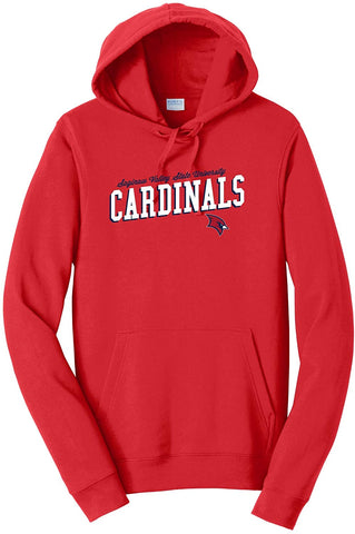Saginaw Valley State University Cardinals NCAA Uphill Victory Women's Hooded Sweatshirt