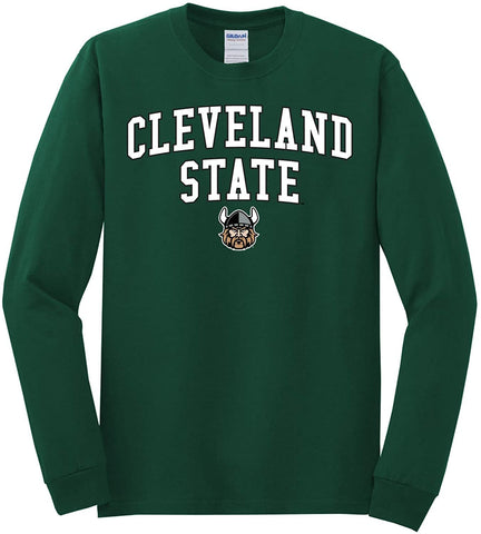 J2 Sport Cleveland State University Vikings NCAA Unisex Long Sleeve T-Shirts