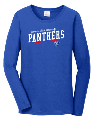 J2 Sport Georgia State University Panthers NCAA Uphill Victory Womens Long Sleeve T-Shirt