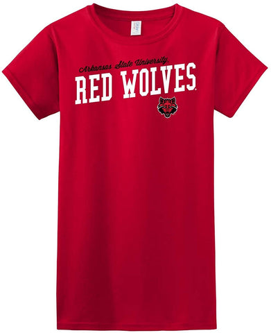 Old School Old School J2 Sport Arkansas State University Red Wolves NCAA Womens Apparel