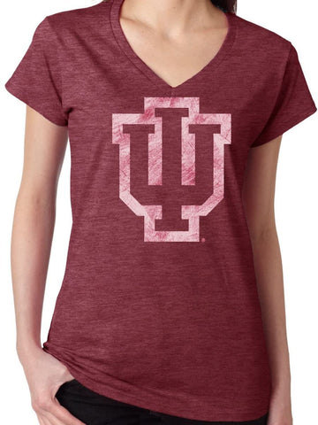 J2 Sport Indiana Hoosiers NCAA Washed Out Logo Junior T-Shirt