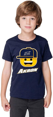 J2 Sport Akron Zips NCAA Ball Cap Boy Infant T-Shirt