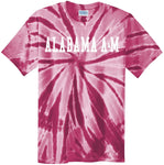 J2 Sport AAMU Alabama A&M University Bulldogs NCAA Unisex Tie Dye T-Shirt
