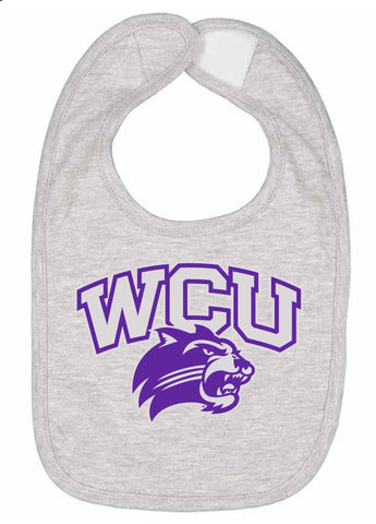 J2 Sport Western Carolina University Catamounts NCAA Logo Infant Bib