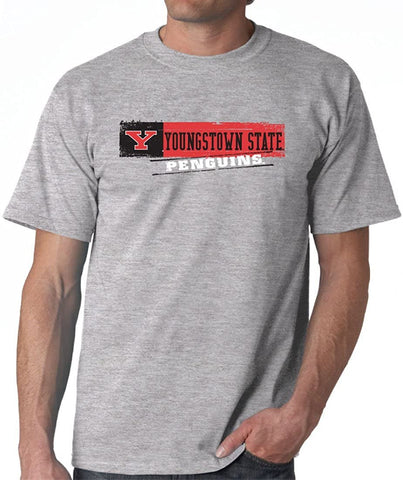 J2 Sport Youngstown State University Penguins NCAA Sticker Unisex T-Shirt