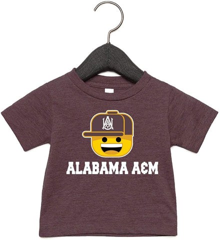 J2 Sport Alabama A&M Bulldogs NCAA Ball Cap Infant T-Shirt