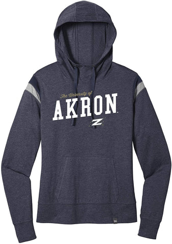 J2 Sport University of Akron Zips NCAA Womens Hoodies and Sweatshirts