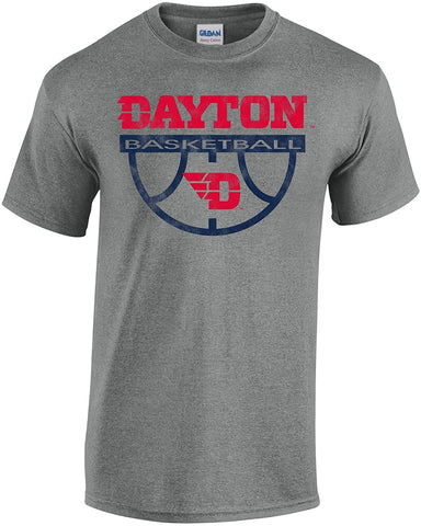 Basketball Short Sleeve J2 Sport Dayton Flyers NCAA Basketball Unisex Apparel