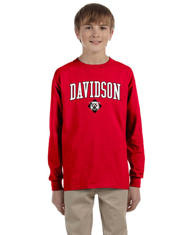 J2 Sport Davidson College Wildcats NCAA Youth Long Sleeve T-Shirts