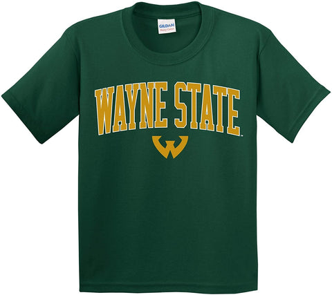 J2 Sport WSU Wayne State University Warriors NCAA Youth T-Shirt