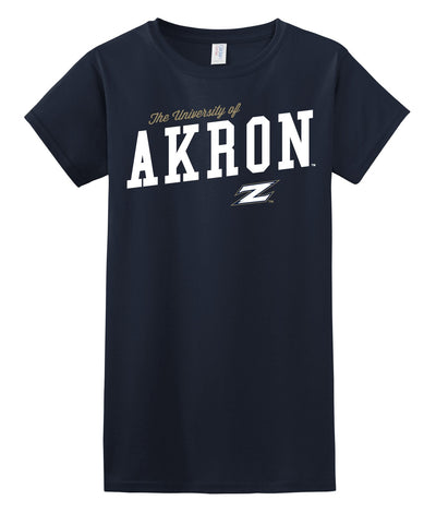 J2 Sport University of Akron Zips NCAA Uphill Victory Women's T-Shirt