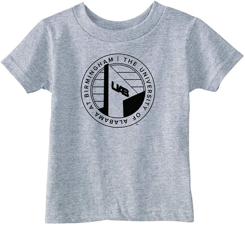 J2 Sport University of Alabama at Birmingham Blazers NCAA Logo Grey Toddler T-Shirt