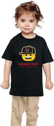 J2 Sport Arkansas State Red Wolves NCAA Youth Short Sleeve Ball Cap Boy T-Shirt