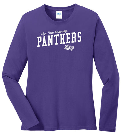 J2 Sport High Point University Panthers NCAA Uphill Victory Womens Long Sleeve T-Shirt