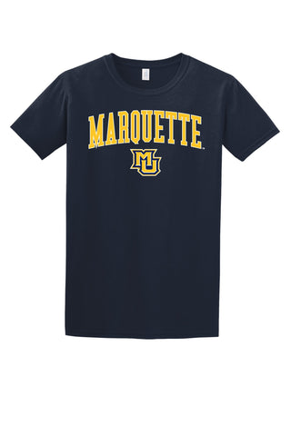 Marquette Golden Eagles NCAA Jumbo Arch Unisex T-Shirt