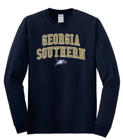 J2 Sport GS Georgia Southern University Eagles NCAA Jumbo Arch Youth Long Sleeve T-Shirt