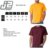J2 Sport Alabama A&M Bulldogs NCAA Unisex Block Maroon T-shirt