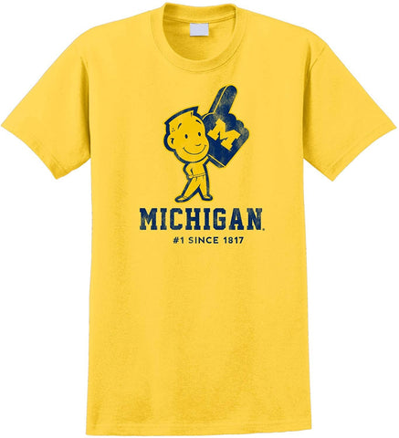 J2 Sport University of Michigan Wolverines NCAA Michigan Man Unisex T-Shirt