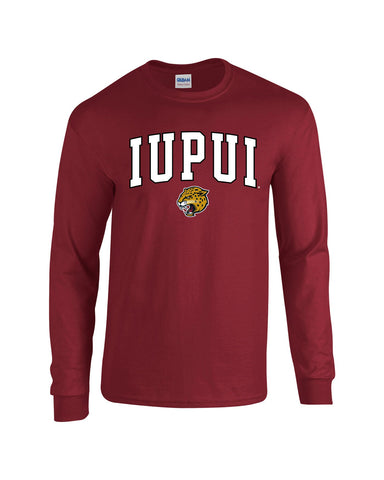 J2 Sport IUPUI Indiana University – Purdue University Indianapolis NCAA Jumbo Arch Youth Long Sleeve T-Shirt