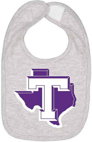J2 Sport Tarleton State University Texans NCAA Logo Infant Bib