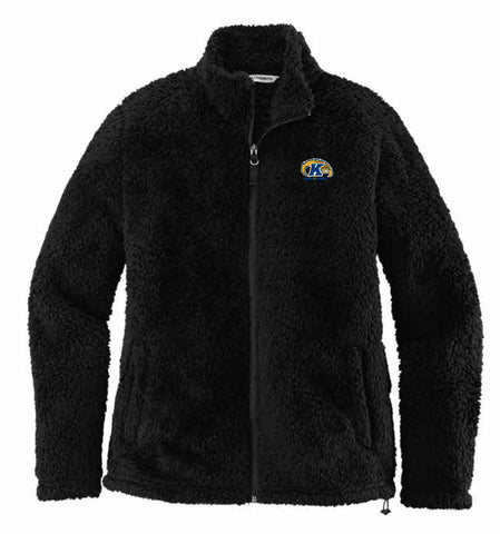 J2 Sport KSU Kent State University Golden Flashes NCAA Ladies Cozy Fleece Jacket