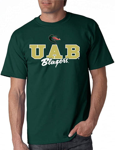 J2 Sport UAB University of Alabama at Birmingham Blazers NCAA Campus Script Unisex T-shirt