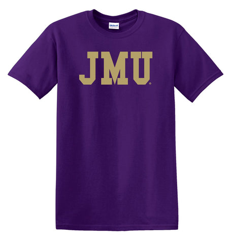 J2 Sport JMU James Madison University Dukes NCAA Block Unisex T-Shirt