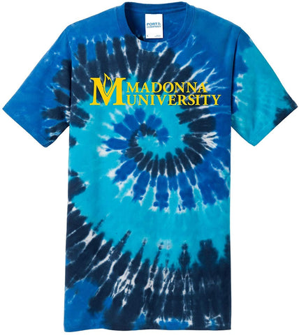 J2 Sport Madonna University Crusaders NCAA Tie Dye T-Shirt