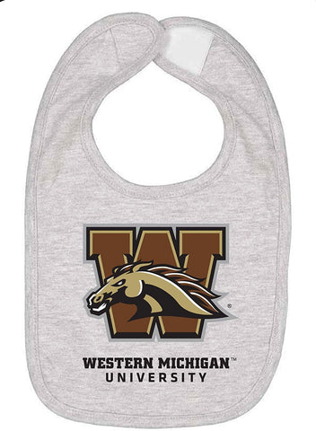 J2 Sport Western Michigan University Broncos NCAA Logo Infant Bib