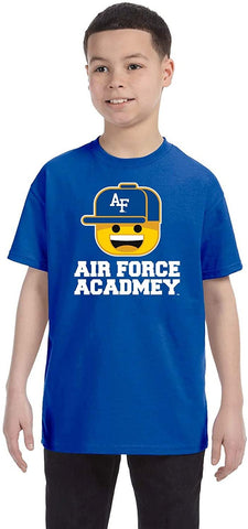 J2 Sport US Air Force Academy Falcons NCAA Ball Cap Boy Youth T-shirt