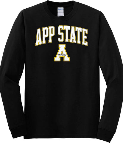 J2 Sport Appalachian State University Mountaineers NCAA Unisex Long Sleeve T-Shirts