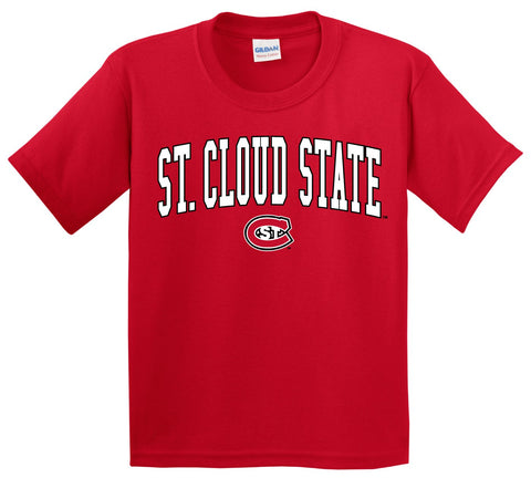 J2 Sport SCSU St. Cloud State University Huskies NCAA Youth T-Shirt