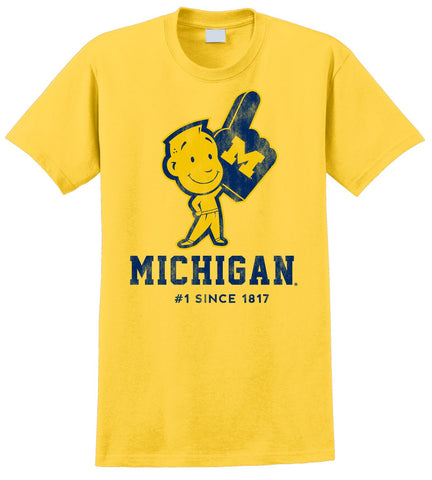 J2 Sport University of Michigan Wolverines NCAA Michigan Man Youth T-Shirt