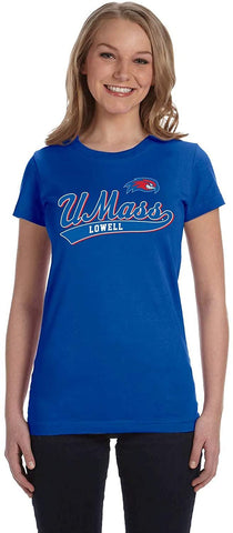 J2 Sport University of Massachusetts Lowell River Hawks NCAA Womens T-Shirt