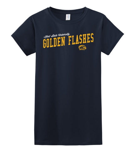 J2 Sport Kent State University Golden Flashes NCAA Uphill Victory Womens T-Shirt