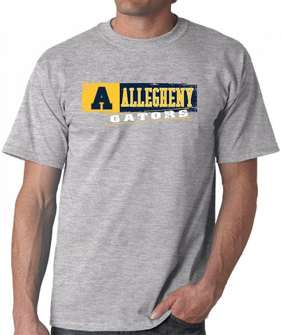 J2 Sport Allegheny College Gators NCAA Sticker Unisex T-shirt