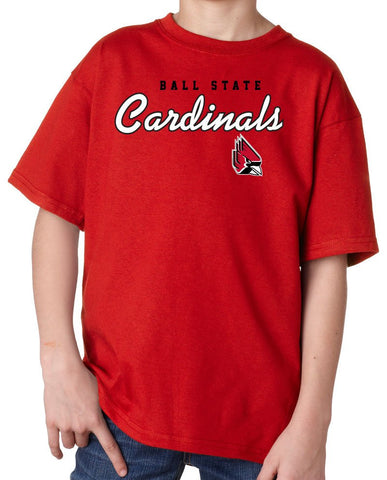J2 Sport Ball State University Cardinals NCAA Youth Apparel