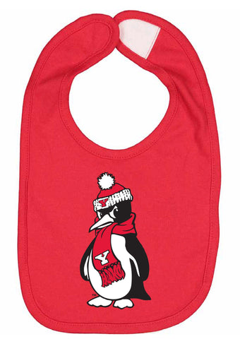 J2 Sport Youngstown State University Penguins NCAA Logo Infant Bib