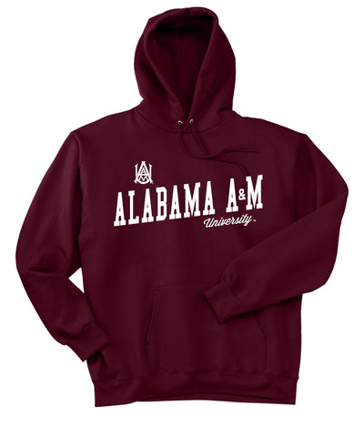 J2 Sport Alabama A&M University Bulldogs NCAA Womens Hoodies and Sweatshirts