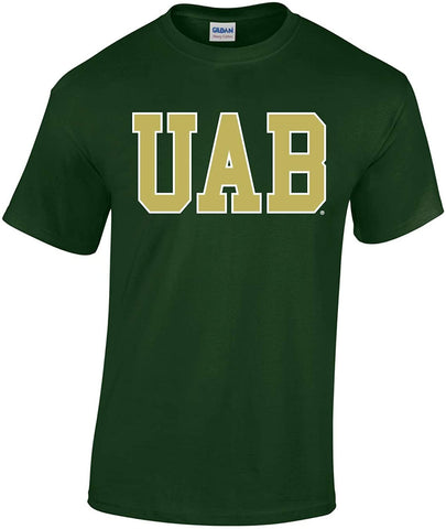 J2 Sport UAB University of Alabama at Birmingham Blazers NCAA Block Unisex T-Shirt