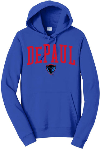 J2 Sport DePaul University Blue Demons NCAA Unisex Hoodies and Sweatshirts