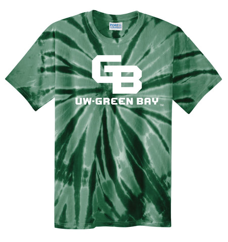 J2 Sport UWGB University of Wisconsin Green Bay Phoenix NCAA Tie Dye T-Shirt