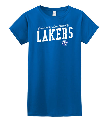J2 Sport Grand Valley State University Lakers NCAA Uphill Victory Womens T-Shirt