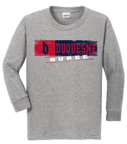 J2 Sport Duquesne University Dukes NCAA Youth Long Sleeve T-Shirts