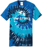 Wisconsin Stout Blue Devils NCAA Tie Dye T-Shirt