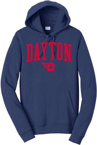 Jumbo Arch Hood J2 Sport University of Dayton Flyers NCAA Unisex Hoodies and Sweatshirt