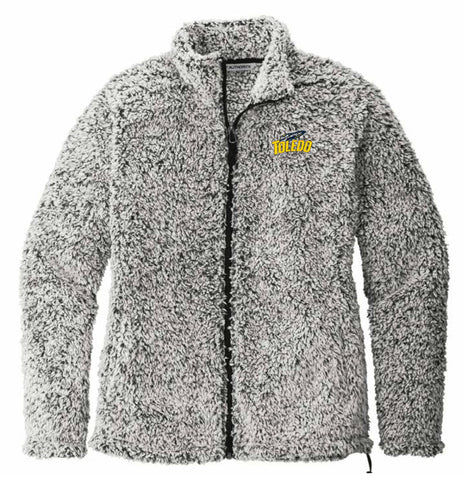 J2 Sport University of Toledo Rockets NCAA Ladies Cozy Fleece Jacket