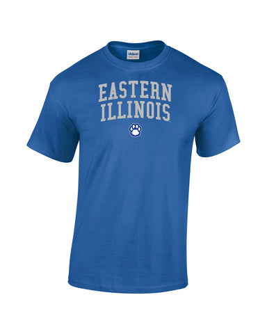 J2 Sport Eastern Illinois University Panthers NCAA Jumbo Arch Unisex T-Shirt