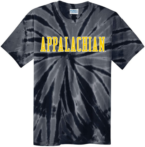 J2 Sport Appalachian State University Mountaineers NCAA Unisex Tie Dye T-Shirt