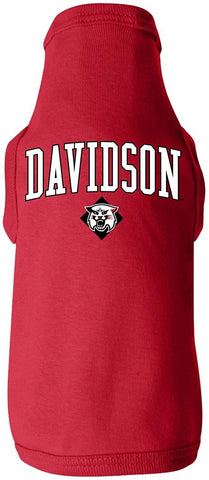 J2 Sport Davidson College Wildcats NCAA Dog T-Shirts